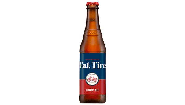 "New Belgium Brewing Co. ""Fat Tire"" (5.2%) [12oz BOTTLE]"