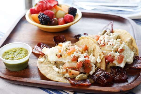 PBA breakfast taco