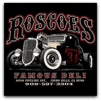 Roscoe's Famous Deli Chino Hills Logo