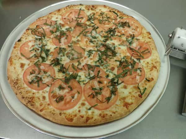 Fresh Tomato Pizza