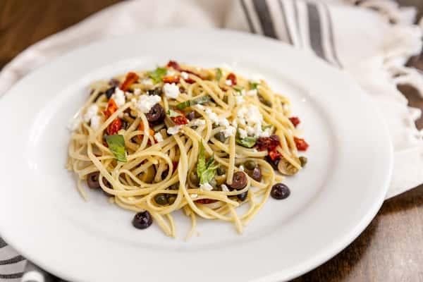 Mediterranean Three Olive Pasta