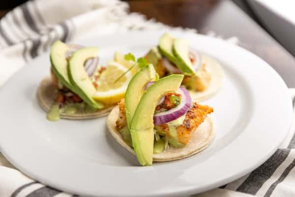 Cod Tacos