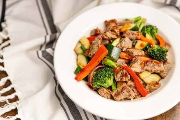 Rib Eye Steak Stir Fry