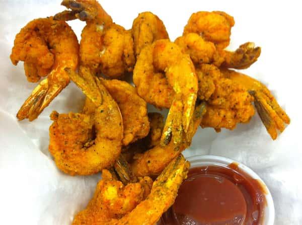 Fusion fried shrimp[