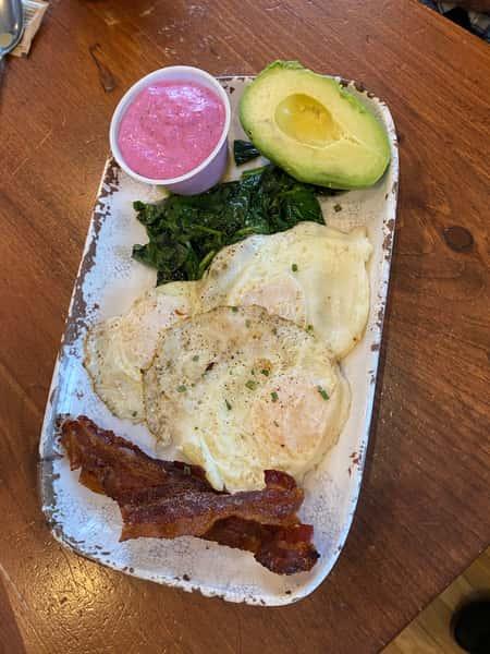 Keto Breakfast Plate