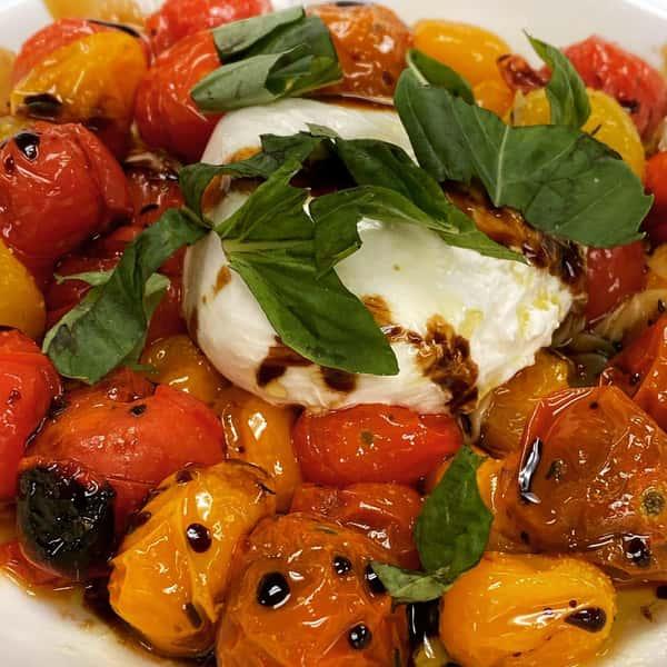 Burrata & Roasted Tomato