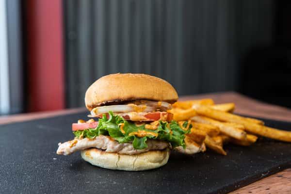 Cajun Chicken Sandwich