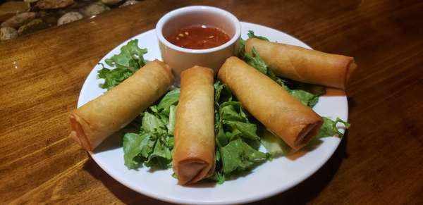 🌿 Vegan Egg Rolls