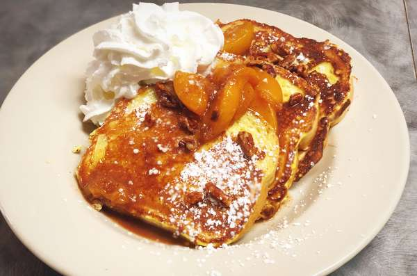 peach rench toast