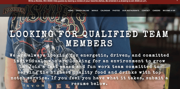 Looking for Qualified Team Members