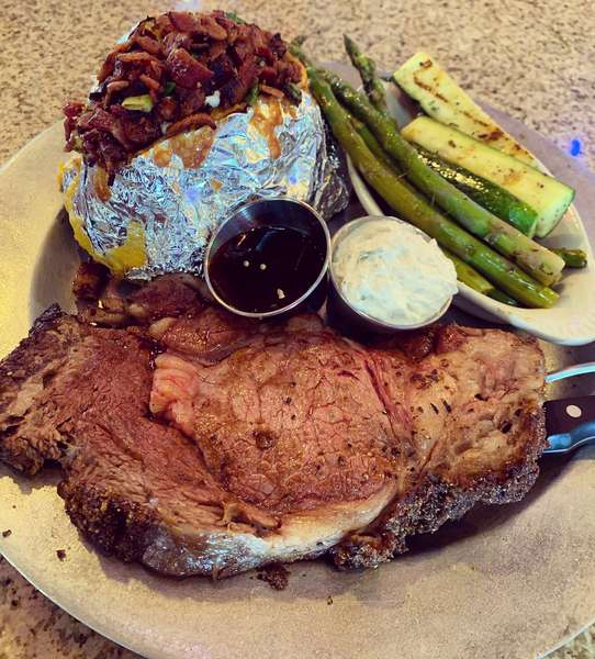 Prime Rib of Beef (Friday and Saturday Only after 4 pm)