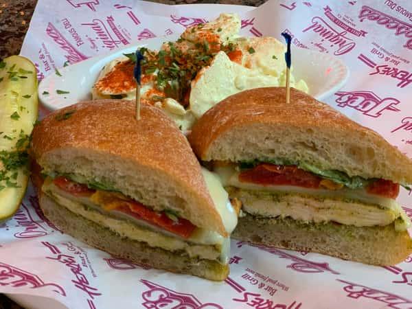 Spicy Pesto Chicken Sandwich