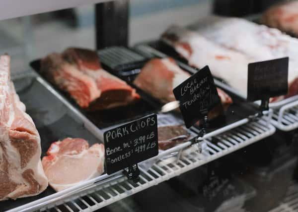 butcher deli counter