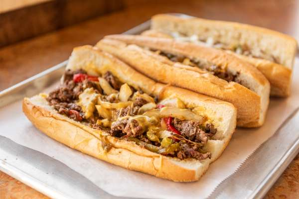 Assorted Traditional Cheesesteaks