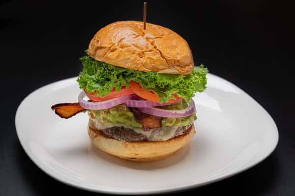 Guacamole Bacon Burger