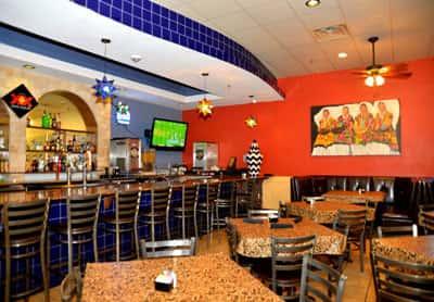 Ernesto's interior dining and bar