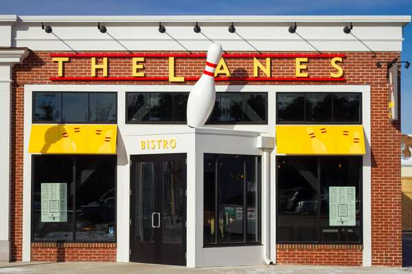 The Lanes storefront