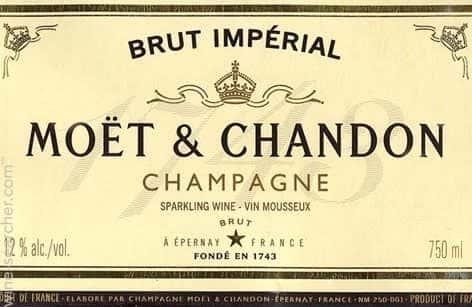 Champagne, Moët Chandon, FRA