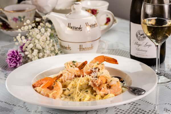 Shrimp Linguine Pasta