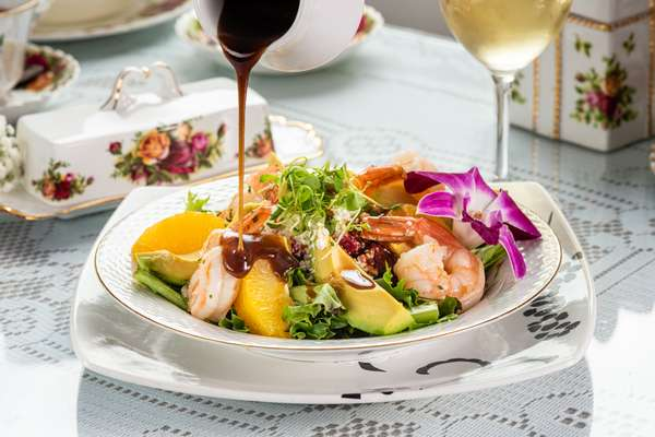 Shrimp & Beet Salad
