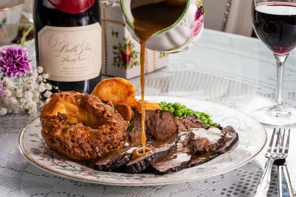 Roast Beef & Yorkshire Pudding Dinner