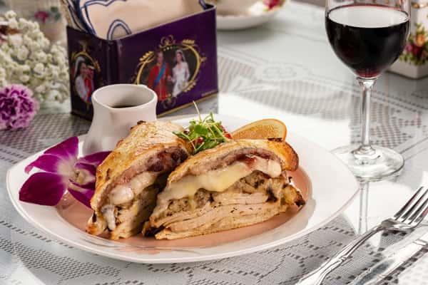 FULLY LOADED Turkey SANDWICH