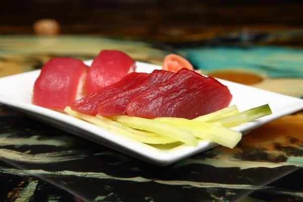 Tuna Nigiri and Sashimi