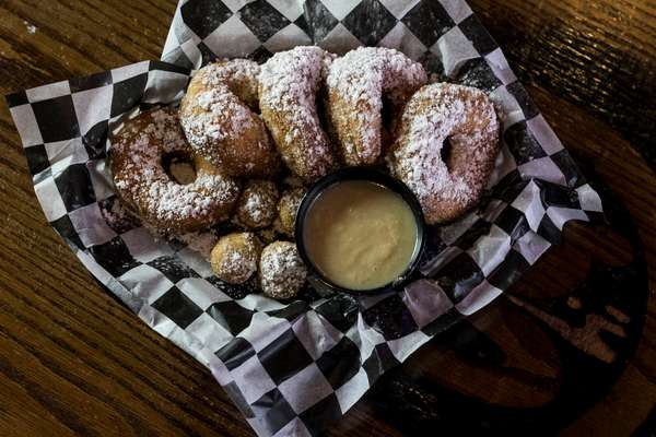 Fresh Donuts Fried to Order