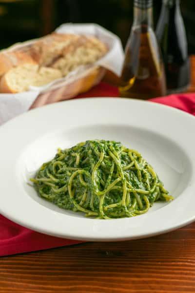 Spaghetti Pesto