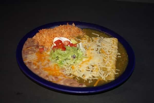 5. Verde Enchiladas