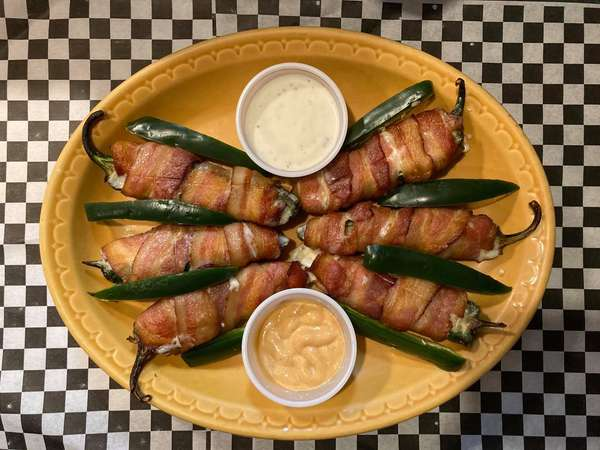 Bacon Wrapped Jalapenos (4)