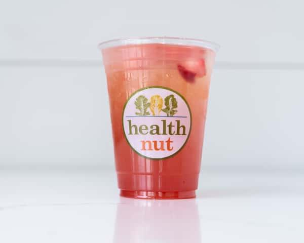 Strawberry Mango Iced Greentini