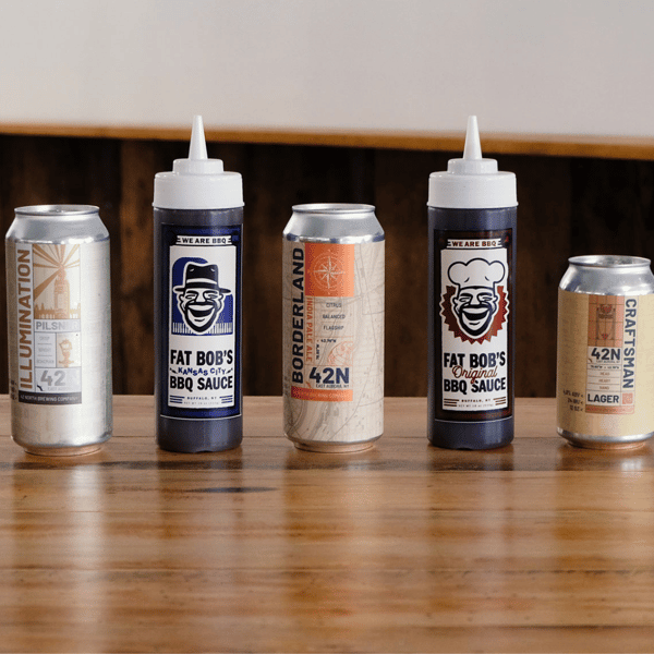 sauces and beer
