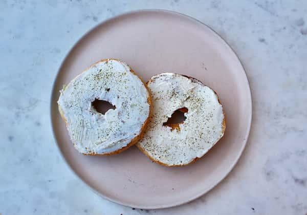 Fermented Sourdough Bagel