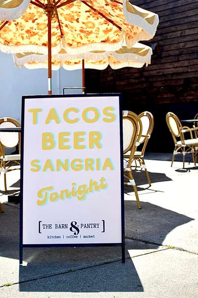 Pasture raised meats and cheeses + house made tortillas for taco night every Thursday