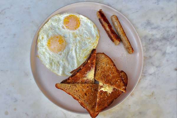 Kid's Egg, Sausage Link, & Toast