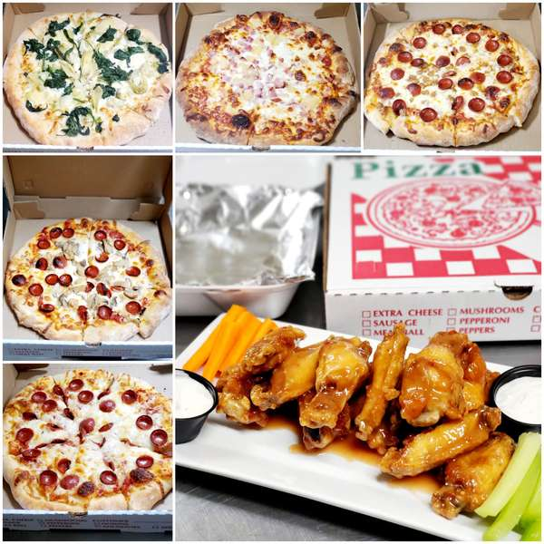 Thursday Night Pizza and Wing Special