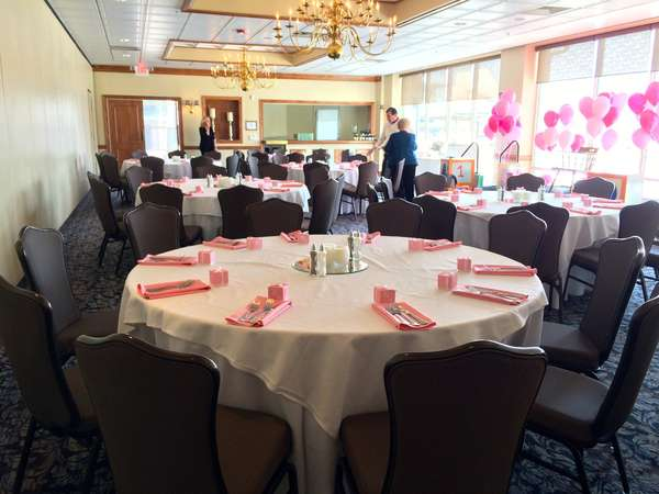 Small private events can be arranged