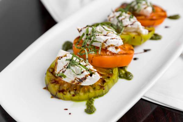Tomato and Fresh Burrata Salad