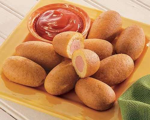 Mini Corn Dogs and Fries