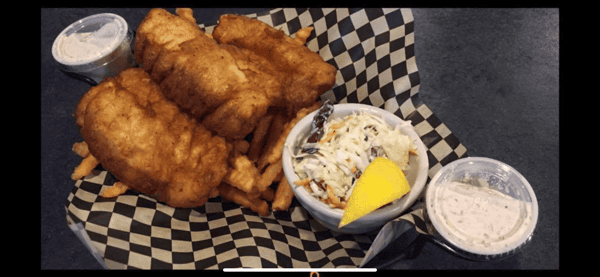 Hacker's Famous Fish and Chips