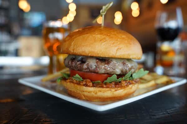 Bacon Jam Bison Burger