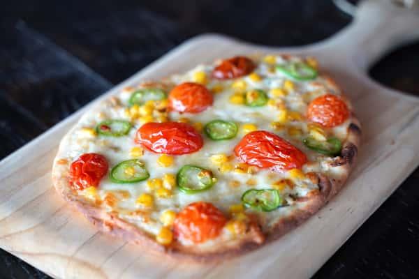 spicy flatbread