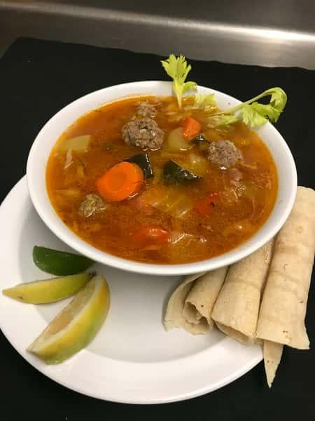 Albondigas Soup Bowl