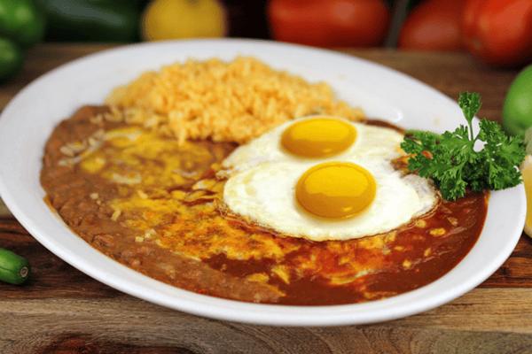 Flat Enchiladas