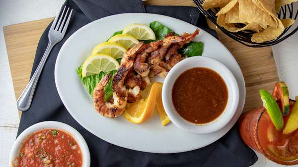 bacon wrap shrimp
