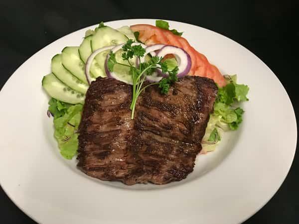 Carne Asada & Salad