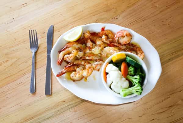 Broiled Jumbo Shrimp