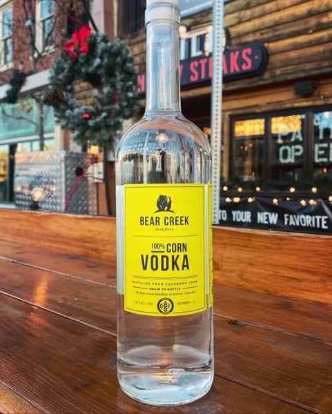 Bear Creek Corn Vodka