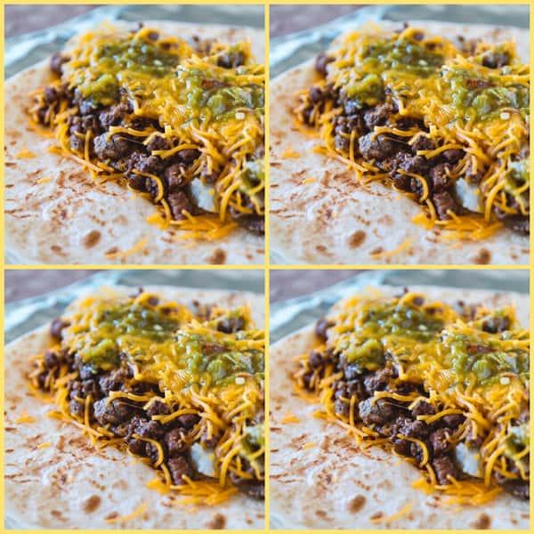 DIY Burrito Pack (Serves 4)
